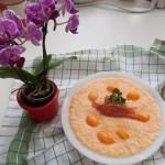 Fehérboros sárgadinnye krémleves pármai sonkával 2