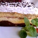Gesztenyés banános süti 1