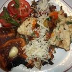 Gombás sonkás sajtos omlett 2