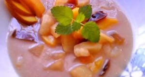Hideg gyümölcsleves