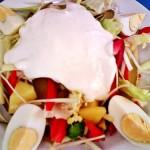 Károlyi saláta roston csirkecsíkokkal 2