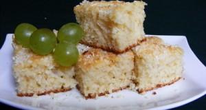 Kókuszos ananászos bögrés süti