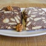 Kókuszos keksz szalámi 3