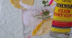 Lemon Gin Fizz strong