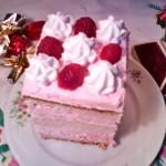 Málnás tejszínhabos süti 1