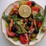 Mediterrán saláta paradicsomszószos szardíniával 2