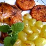 Mustos boros kacsasült szőlőmártással 2