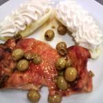 Olívabogyós rozmaringos csirkecomb filé 2