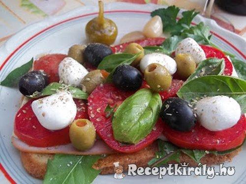 Olasz szendvics bruschetta