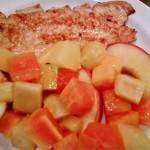 Pulykamell roston flambírozott gyümölcsökkel 3