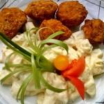 Rántott karfiol majonézes krumplival 1