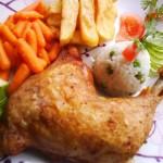 Ropogós majoránnás csirkecomb 1