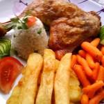 Ropogós majoránnás csirkecomb 2