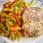 Sertésborda színes zöldségraguval 2