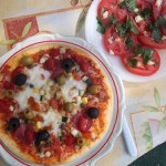 Szalámis pizza gazdagon 1
