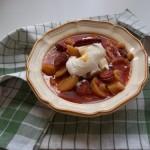 Szalonnás paprikás krumpli lecsó és füstölt kolbásszal tejföllel 2