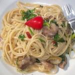 Szicíliai két gombás spaghetti fehérborral 1