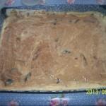 Szilvás körtés süti 1