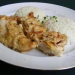 Tejszínes hagymás csirke 2