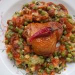 Vörösboros paprikás csirke finomfőzelékkel 2