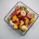Vodkás exotikus gyümölcssaláta 1