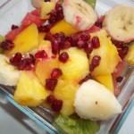 Vodkás exotikus gyümölcssaláta