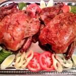 Zöldfűszeres sült csirke 1