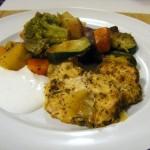 Zöldséggel sült csirkemell3