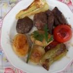 Cevapcici grillezett zöldségekkel 2