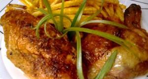 Chilis rozmaringos csirke