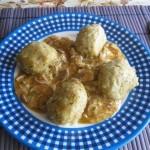 Citromos csirkemártás krumpligombóccal 1