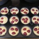 Cseresznyés muffin 1