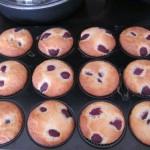 Cseresznyés muffin 2