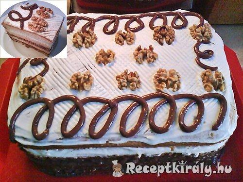 Diós csokis süti 2