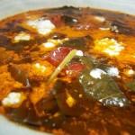 Fehérboros tejszínes karalábélevél leves parasztkolbásszal 1