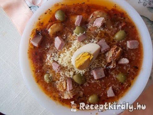 Húsvéti tortellini sonkás paradicsomos szószban tojással 1