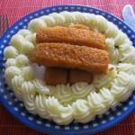 Halrudak krumplipürével 3