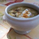 Hideg currys cukkini krémleves