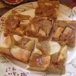 Mézes körtés pite karamell öntettel 1
