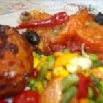 Mediterrán csirkemell paradicsommal mozzarellával 1