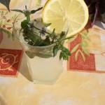 Mentás limonádé vodkával 1