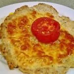 Mozzarellával és paradicsommal sütött csirkelángos 1