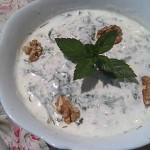 Perzsa uborkás mentás joghurtleves hidegen