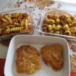 Rántott csirkemell krumplikrokettel 2