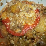 Rakott krumpli másképp brokkolival karfiollal 2