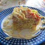 Rakott spagetti