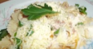 Sonkás tészta reszelt sajttal