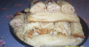 Tökös krumplis palacsinta különleges töltelékkel