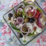 Túrós saláta olívabogyókkal 1