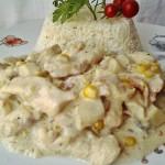 Tejszínes gombás kukoricás csirkemell 1